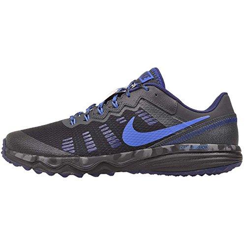 - Nike Men's Dual Fusion Trail 2 Running Shoe Black/Hyper Cobalt/Anthracite/Loyal Blue Size 12 M US