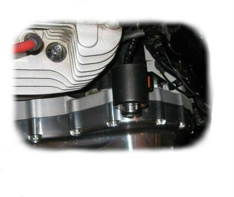 sportster coil relocation kit - 2