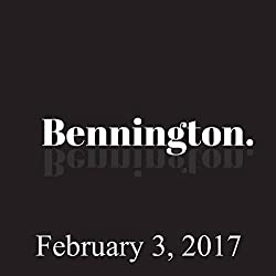 Bennington, February 3, 2017
