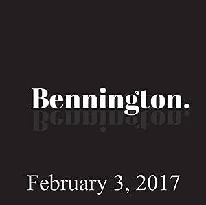 Bennington, February 3, 2017 Radio/TV Program