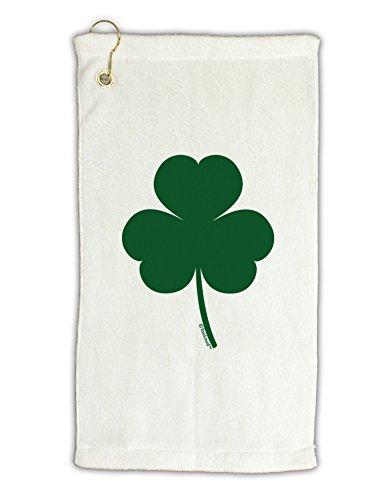 TooLoud Traditional Irish Shamrock Micro Terry Gromet Golf Towel (Irish Golf Towel)