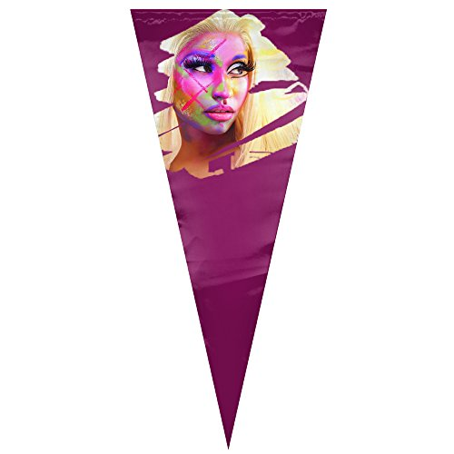 [TianC Nicki Minaj Pennant Decorations Flags One Size] (Rogue Thief Costume)
