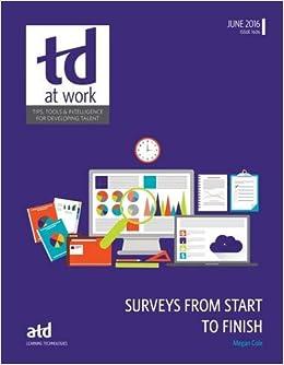 Surveys From Start to Finish