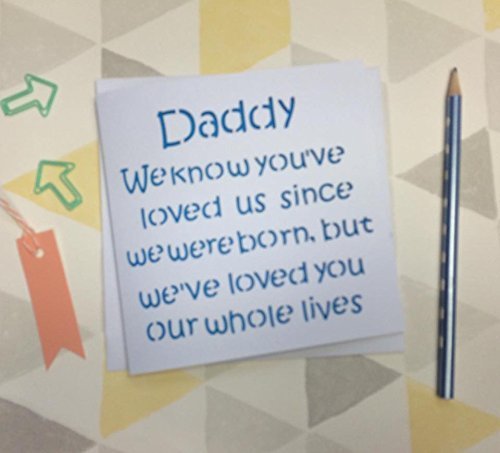 Handmade Lovely Fathers Day Or Birthday Card For Daddy
