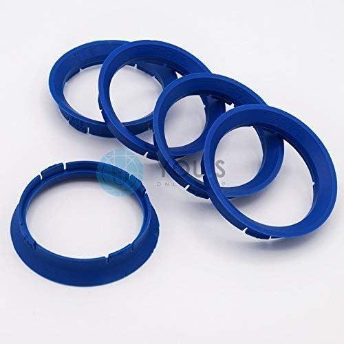 Schmidt Revolution Proline Wheels DBV 5 x ZENTRIERRINGE DISTANZRING f/ür ALUFELGEN FZ05 63,3-57,1 mm CMS
