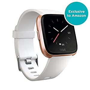 Fitbit FB505RGWT EU Versa, White Band/Rose Gold Alumium Case