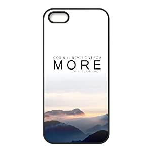 For SamSung Galaxy S6 Phone Case Cover God Will Never Give You More Quote Hard Shell Back Black For SamSung Galaxy S6 Phone Case Cover 330390