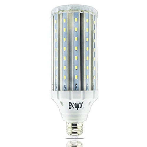 Bonlux Medium Screw Base E26 LED Bulb 85-265v Ac 35w Daylight 6000k LED Corn Light for Garden Street Path Area Lighting Garage Factory Warehouse Highbay LED Retrofit Bulb