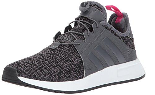 adidas Originals Boys' X_PLR J Running Shoe, Grey Five/White, 5 Medium US Big Kid