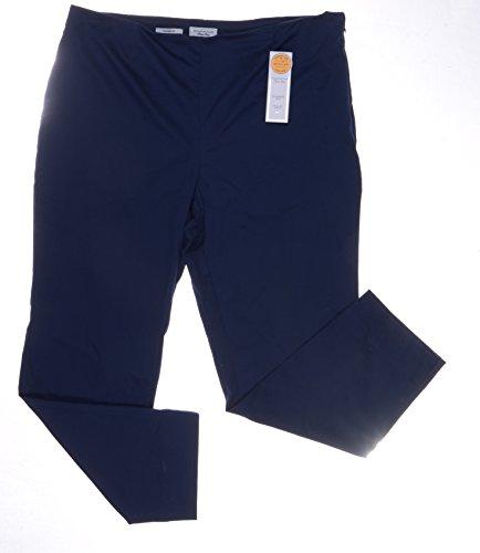 Sateen Side Zip Pants (Charter Club Sateen Side-zip Ankle Pants Intrepid Blue Size)