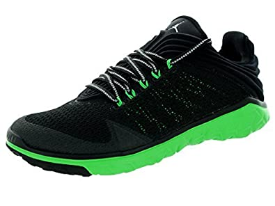 Nike Men s Jordan Flight Flex Trainer Black Green 654268-033  Buy Online at  Low Prices in India - Amazon.in e27f1270d