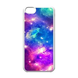 Galaxy Space Universe Unique Design Cover Case for Iphone 5C,custom case cover ygtg553107