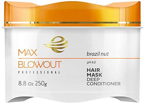 Hair Mask Brazil Nut (Eckoz Professional Max Blowout Brazil Nut Hair Mask)