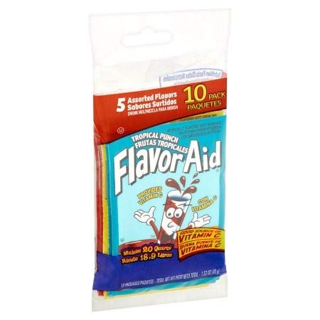 Flavor Aid Powdered Drink Mix (Pack of ()