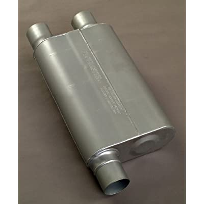 Flowmaster 9430462 Super 44 Muffler - 3.00 Offset IN / 2.50 Dual OUT - Aggressive Sound: Automotive