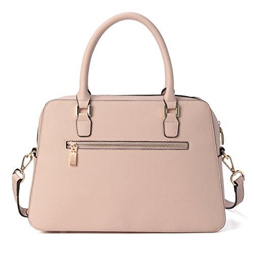 Crossbady Pink Purse Leather Kadell Bags Handbags Ladies Bare Women's Shoulder PU Bag Vintage Cluth pwYAUq