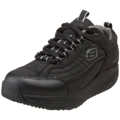 Skechers XT Sport Skechers Fitness Ups Black Mens Sport Shape Shoe TY4n5nw1q