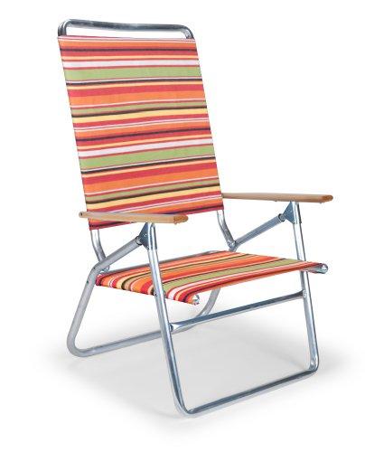 - Telescope Casual Light 'n Easy High Boy Folding Beach Arm Chair, Cantina