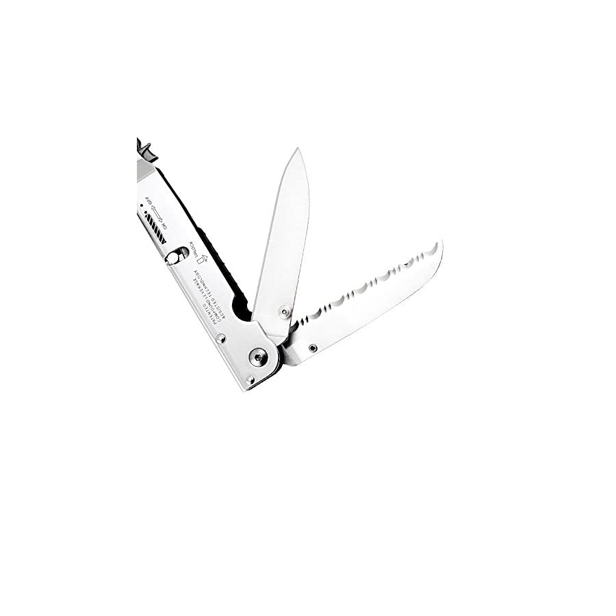 """SOG Multitool Pliers and Hand Tools – """"PowerAssist"""" S66N CP 2x Power Pliers Compound Leverage Multi Tool with 16 Specialty Tools + EDC Multitool Sheath"""