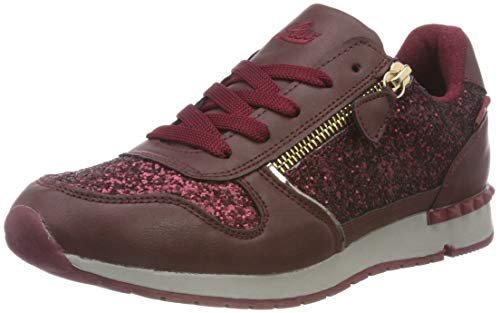 Lico Femme Sneakers Bordeaux Ginger Rouge Basses bordeaux H qrwv18Ir