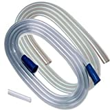 Kendall 8888301606 Covidian Branded Professional Medical Products - Tubing Suction Argle Connecting Tube, 6 mm (Pack of 50)