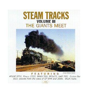 Steam Tracks Vol 3 - Railroad Steam Train Horn Whistle Sound Effect [Audio CD]