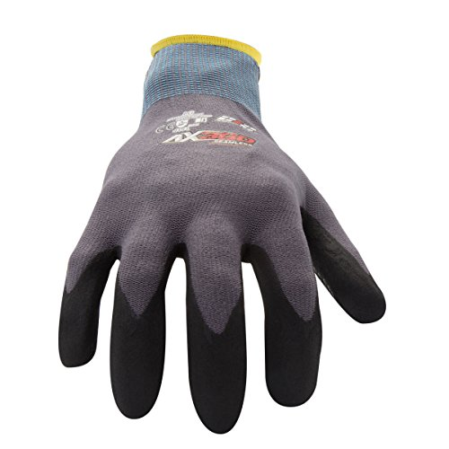 212 Performance Gloves AXDG-16-012PR AX360 Dotted Grip Nitrile-dipped Work Glove, 1-Pair, XX-Large by 212 Performance Gloves (Image #1)