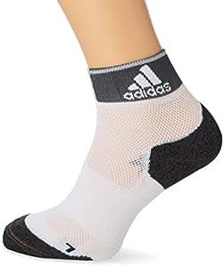 adidas R E Ankle TC1P - Calcetines unisex, color blanco / gris, talla 34-36