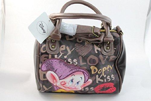 Borsa Donna BAULETTO Disney Sette 7 Nani CUCCIOLO KISS a Mano Spalla Tracolla