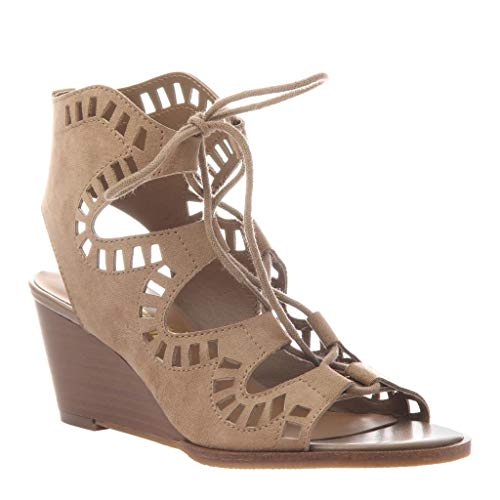 MADELINE girl Women's Morning Glory Wedge Sandals - Desert - 6 M US ()