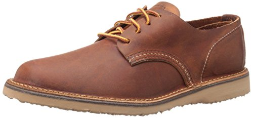 Red Wing Heritage Men's Weekender Oxford, Copper Rough & Tough, 10.5 D US
