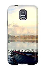 Pauline F. Martinez's Shop 3023351K10559801 New Design Shatterproof Case For Galaxy S5 (river Dock)