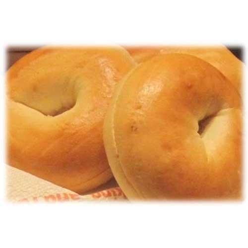 Burry Food Thaw N Sell Plain Sliced Bagel, 3 Ounce - 90 per case.