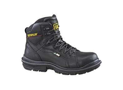 Caterpillar Men's Akron CSA Composite Toe Work Boot (8.5 US / 7.5 UK Wide, Black)