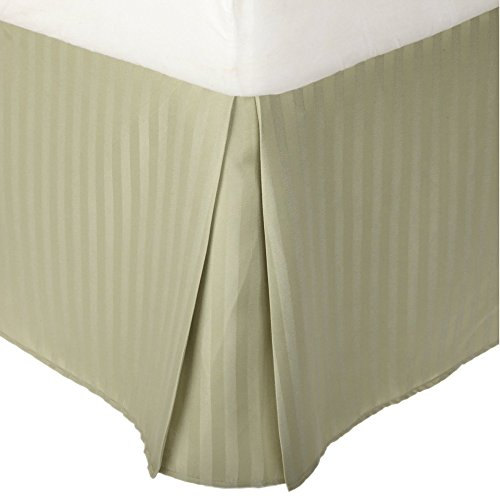 Blue Nile Mills King Striped Bed Skirt 15