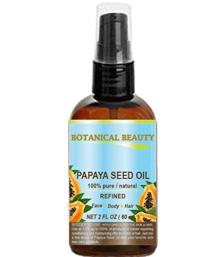 PAPAYA SEED OIL. 100% Pure / Natural / Undiluted /Refined Co
