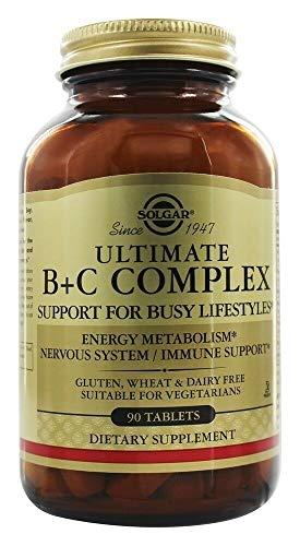 Ultimate B+C Complex Stress Formula 90 Tablets