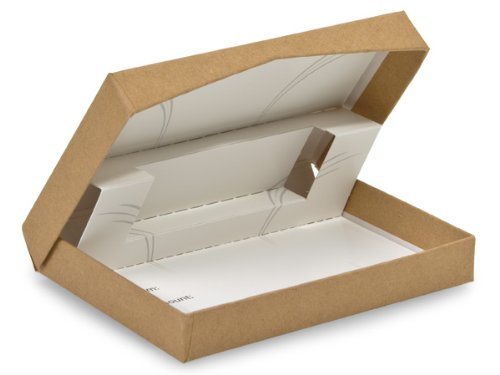 Natural Kraft Pop Up PresentationGift Card Holder 4-5/8x3-3/8x5/8'' (1 unit, 50 pack per unit.) by Nas