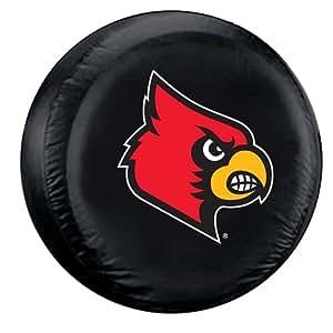 Louisville Cardinals Black Spare Tire Cover