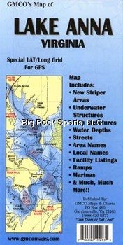 GMCO 10900 Lake Anna Map