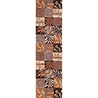 Rug Source Patchwork Hand-Tufted Oushak Agra Oriental Rug 10 Ft Runner for Stairs