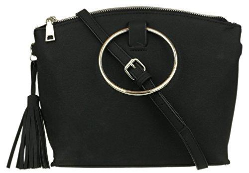 Girly Handbags - Shoulder Bag Plastic For Black Women