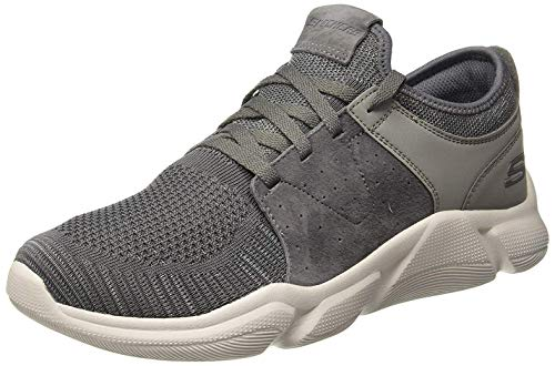 Skechers Drafter Wellmont Mens Sneakers Gray/Charcoal 13