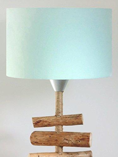 Pantalla de lámpara Verde pastel escandinavo cilindros - redondo - cilíndrico - cilindro - idea de regalo cumpleaños - hecho a mano - lámpara de techo - lámpara de pié o de sobremesa habitación: Amazon.es: Handmade