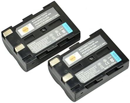 BATTERIA 2x Minolta np-400 a1 a2 Dynax 5d Dynax 7d np400