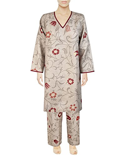 Armani International Caftan + Lounge Pants Large Safari Floral