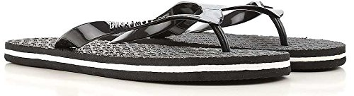Bikkembergs Men's Slipper flip-Flops Man Swimwear Item B6A8032 0270 0031 Nero - Black vT7Zwb