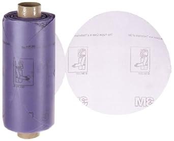 """3M Stikit Film Disc Roll 360L, PSA Attachment, Aluminum Oxide, 5"""" Diameter, P400 Grit (Pack of 1)"""