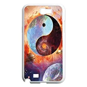 ying yang Discount Personalized Cell Phone Case for Samsung Galaxy Note 2 N7100, ying yang Galaxy Note 2 N7100 Cover