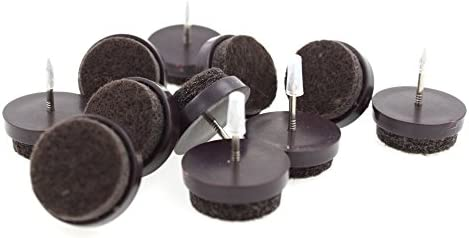 por lifeswonderful/® 3//4/pulg. 16/x redondo u/ñas en muebles pies se desliza con almohadilla de fieltro 20/mm